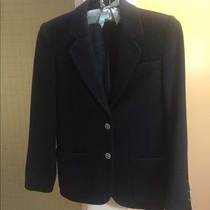 Christian Dior Black Wool/Cashmere Blazer